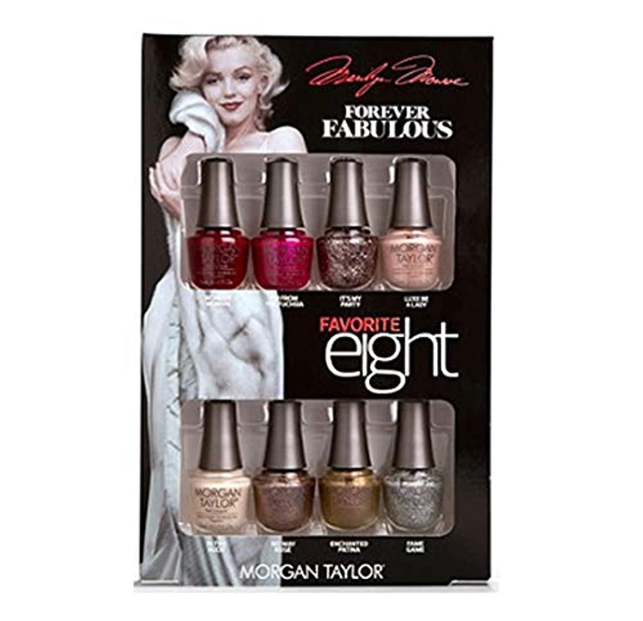ブランド名ドラッグ採用Morgan Taylor - Forever Fabulous Marilyn Monroe - Mini 8 Pack - 5 mL / 0.17 oz Each