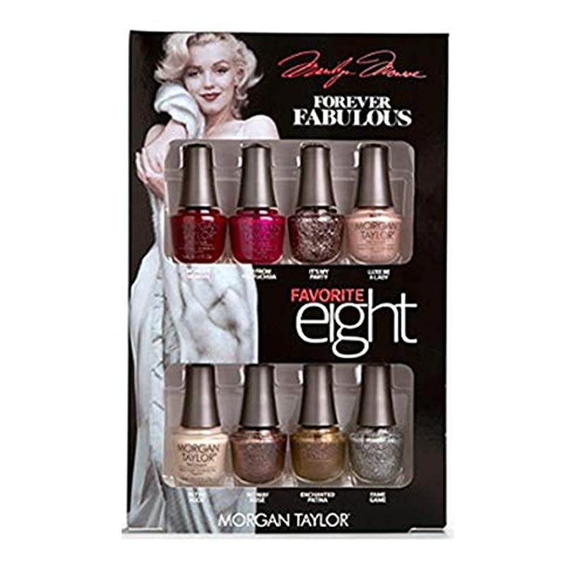 敬意を表するシャーロックホームズ推定するMorgan Taylor - Forever Fabulous Marilyn Monroe - Mini 8 Pack - 5 mL / 0.17 oz Each