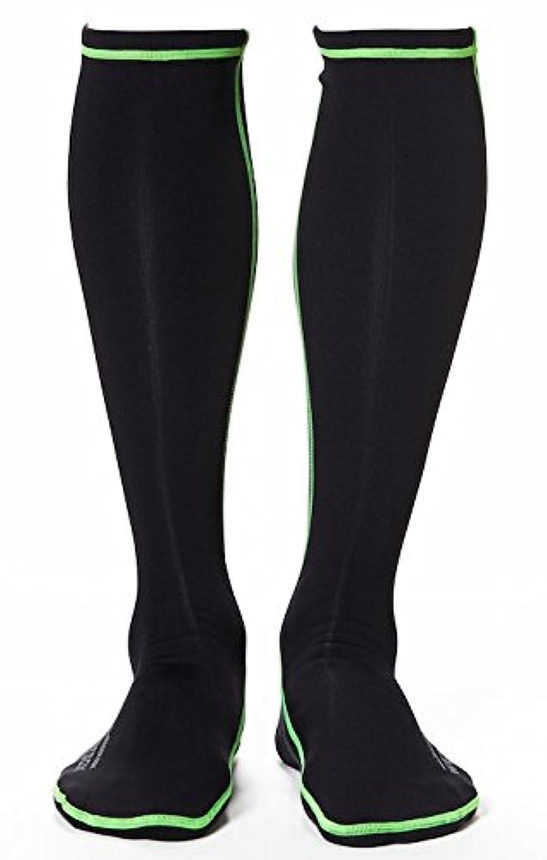Wetsox Wader Sox、RNFブラック、摩擦なしWading Socks , Get in and out of any Waderまたはブート簡単、1 mm Neopreneにより足暖かいウェットまたはドライ ブラック