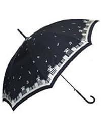 el sopo[エルソポ] 傘 レディース 婦人用雨傘 プレゼントフォー にゃー ファッション雑貨 女性用 オフ白