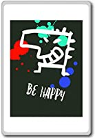 Be Happy - Motivational Quotes Fridge Magnet - ?????????