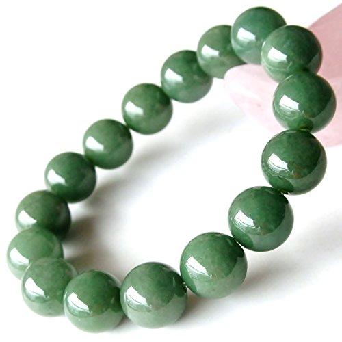 SA級一点物 糸魚川産 希少天然石5月誕生石 翡翠 13~13.5mm珠パワーストーンブレスレット