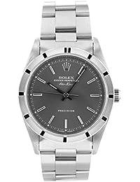 [ロレックス] ROLEX 腕時計 14010 エアキング エンジンターンドベゼル SS グレー文字盤 自動巻き メンズ [中古品] [並行輸入品]
