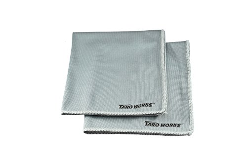 [TARO WORKS] ガラス窓専用 マイクロファイバークロス 内外装 2 Pack