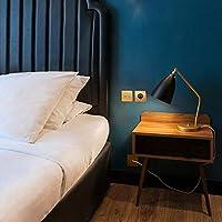 どのように 現代のシンプルスタイルのテーブルランプリビングルームの寝室照明器具ホテルクラブのベッドサイドランプ:ホワイト