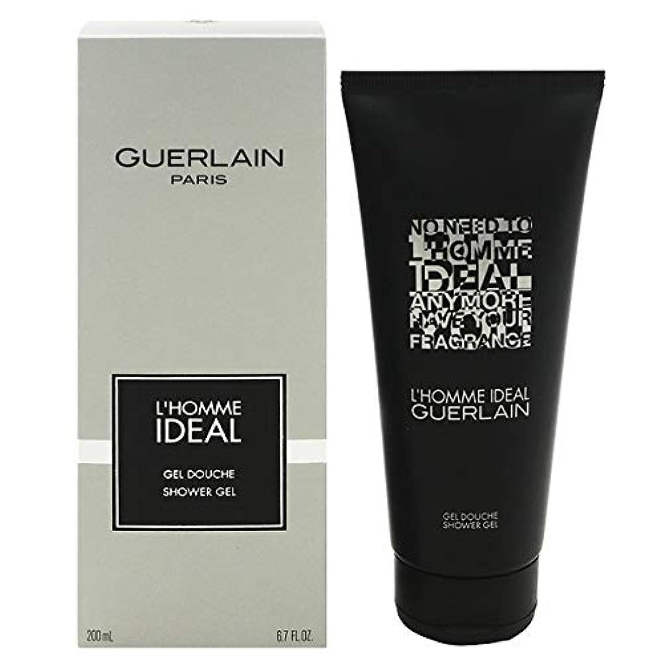 アシスト上に省略ゲラン L'Homme Ideal Shower Gel 200ml/6.7oz並行輸入品