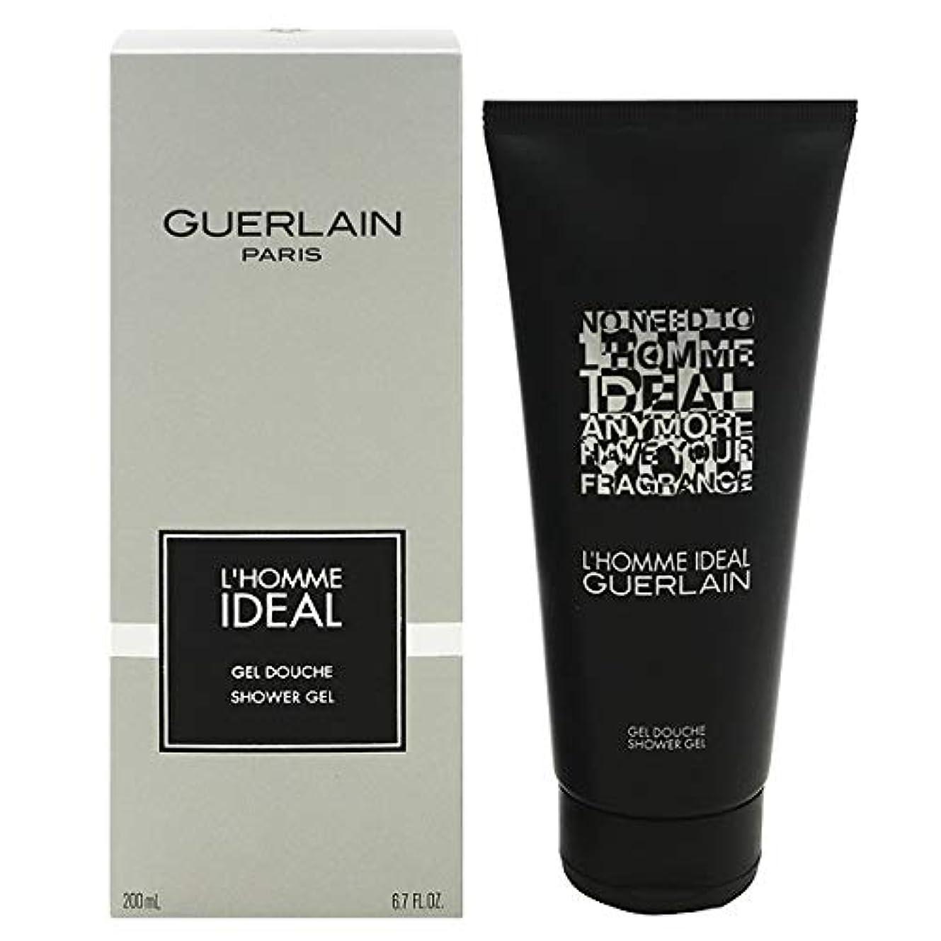 周波数バルーン不毛のゲラン L'Homme Ideal Shower Gel 200ml/6.7oz並行輸入品