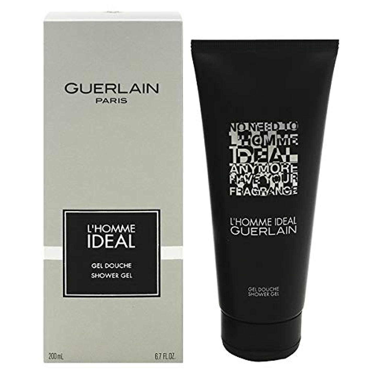 広く離す浴室ゲラン L'Homme Ideal Shower Gel 200ml/6.7oz並行輸入品