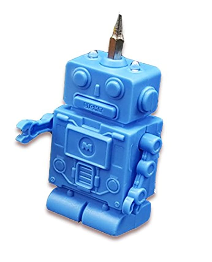 操作換気絶え間ないWittyノベルティロボットHandyman OneSize ブルー