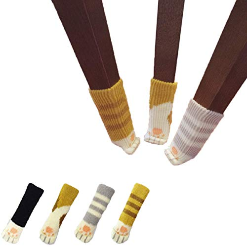 16ピース( 4セット)椅子Socks with Cute ...