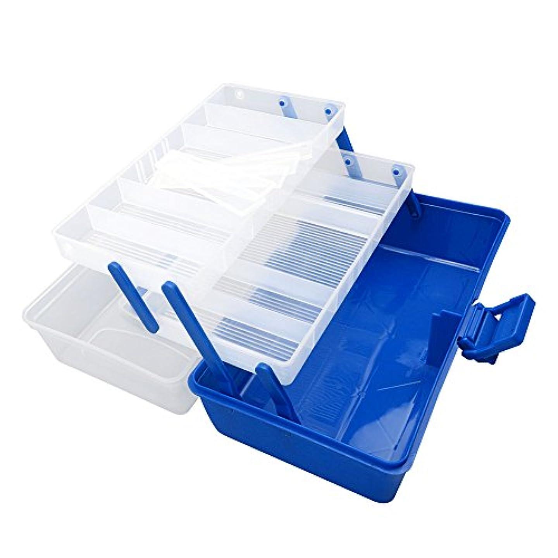 手紙を書く振動させる象box304クリアビーズタックルボックス釣りルアージュエリーネイルアートパーツSmall表示プラスチック透明ケースストレージオーガナイザーコンテナKisten Boxen Boite