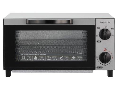 コイズミ オーブントースター シルバー KOS-1013/S