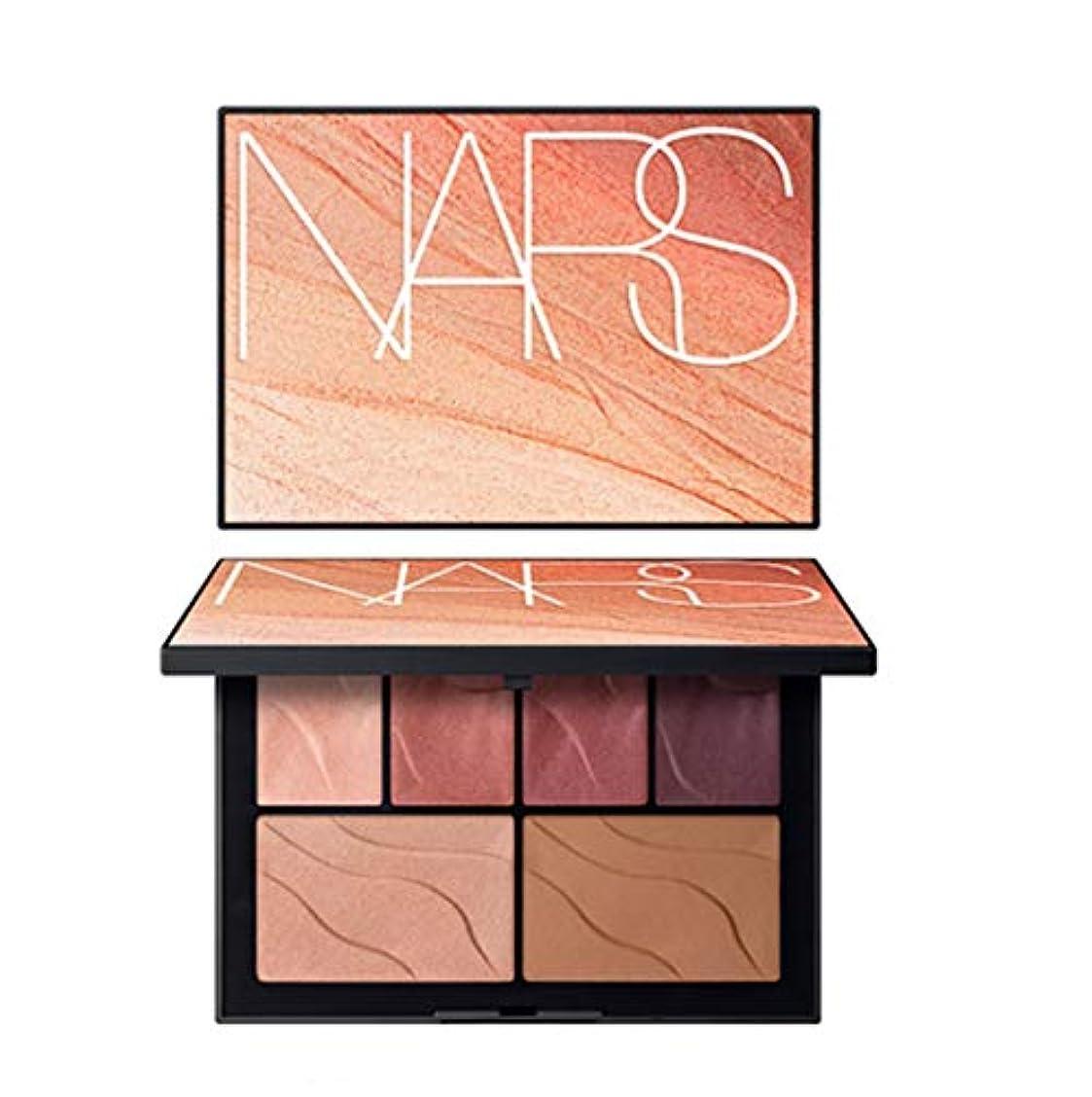 メタルライン人気の猟犬NARS(ナーズ)[2019 Summer Color Collection] Face Palette HEAT OF THE NIGHT #hot lights(並行輸入品)
