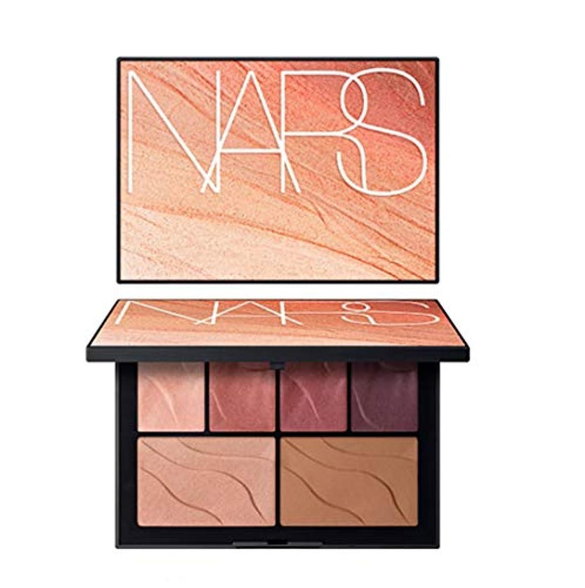 試験メタリック変装したNARS(ナーズ)[2019 Summer Color Collection] Face Palette HEAT OF THE NIGHT #hot lights(並行輸入品)