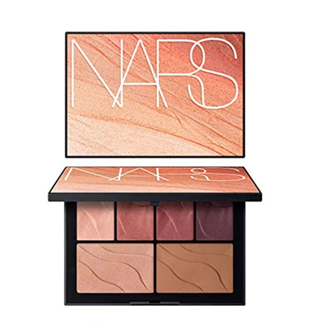 東方謙虚心配するNARS(ナーズ)[2019 Summer Color Collection] Face Palette HEAT OF THE NIGHT #hot lights(並行輸入品)