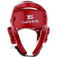 SunniMix 格闘技 キックボクシング ボクシング プレミアムEVA製 ヘルメット ヘッドギア 高安全性 首プロテクター 超耐久性 快適 全2サイズ2色