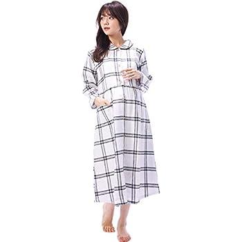 b0a4d1ab105f6 84190 Nishiki(ニシキ) RoomSuppli(ルームサプリ) ネグリジェ マタニティ パジャマ 長袖 授乳口