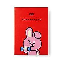 [ bt21]写真合成レザーカバー20枚フォトアルバム/ Cooky