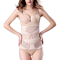 3 in 1 Postpartum Support Recovery Belly Wrap Waist/Pelvis Belt Body Shaper Postnatal Shapewear