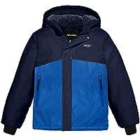 Wantdo Boy's Autumn Camping Rain Outerwear Windbreaker Fleece Hooded Ski Jacket