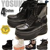 YOSUKE U.S.A ヨースケ 厚底 スニーカー ハイカット カジュアルシューズ  厚底靴 厚底ソール