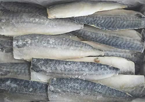 ノルウェー産 トロ鯖フィーレ(骨あり)5kg(35尾)冷凍 業務用 さば