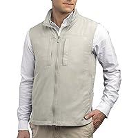 SCOTTeVEST Men's Featherweight Vest - 16 Pockets - Travel Clothing