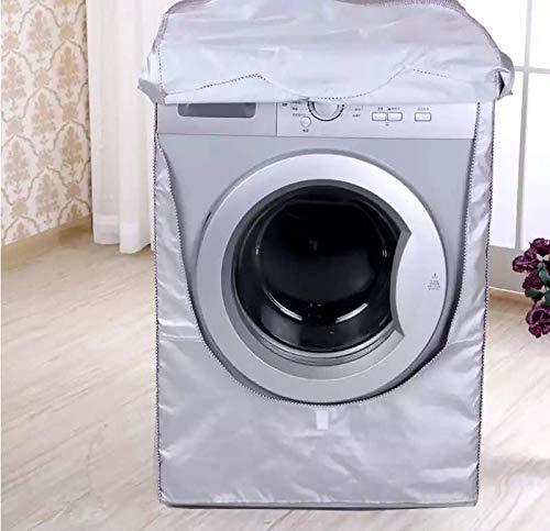 RICHUN 洗濯機カバー 洗濯乾燥機カバー 屋外 防水 防日焼け 防塵 紫外線 厚手生地