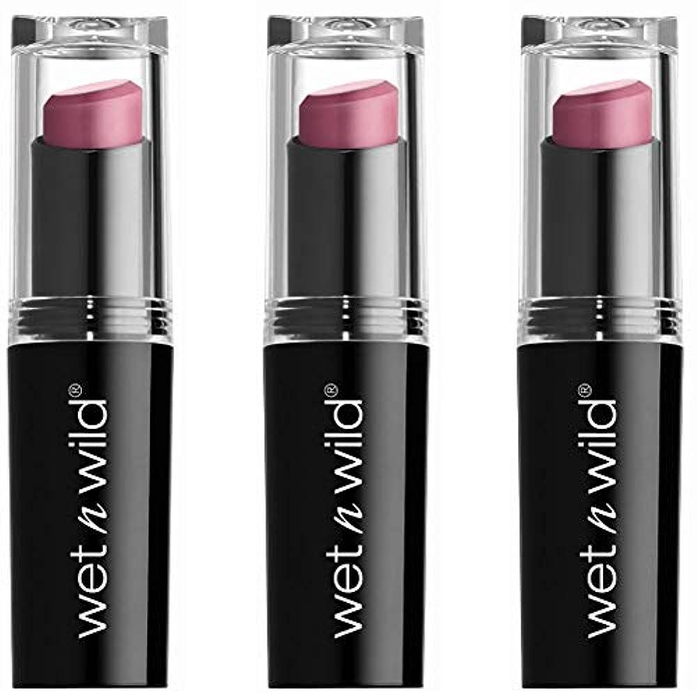 二週間たとえ驚かすWET N WILD Mega Last Matte Lip Cover - Smooth Mauves (並行輸入品)