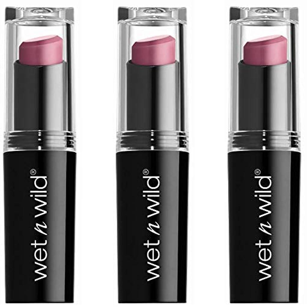 慢性的ラフトロープWET N WILD Mega Last Matte Lip Cover - Smooth Mauves (並行輸入品)
