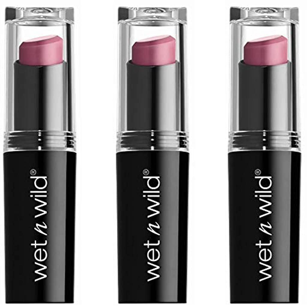 元気な役立つストレンジャーWET N WILD Mega Last Matte Lip Cover - Smooth Mauves (並行輸入品)