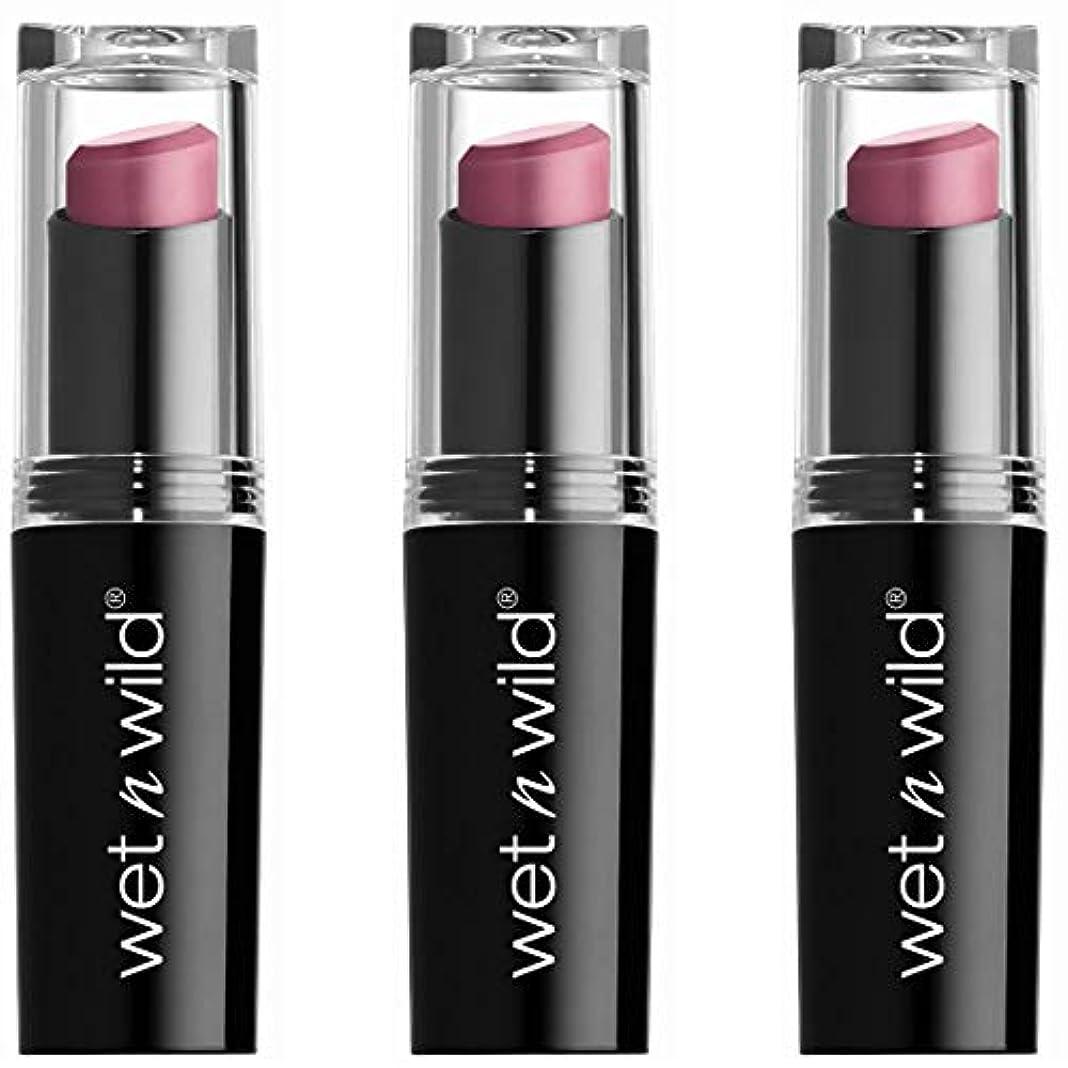 不機嫌宇宙アクセスWET N WILD Mega Last Matte Lip Cover - Smooth Mauves (並行輸入品)
