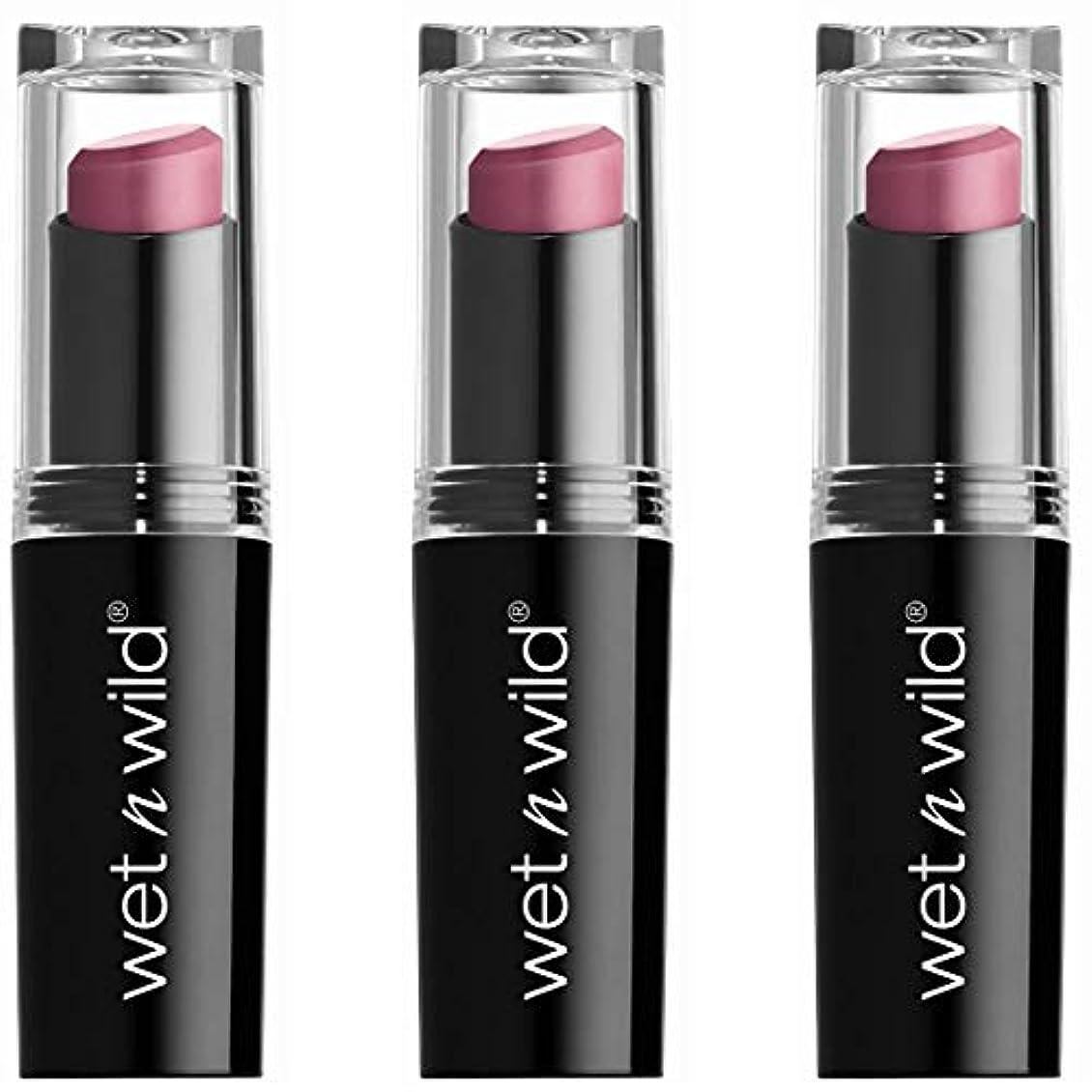 トリップお祝い分析するWET N WILD Mega Last Matte Lip Cover - Smooth Mauves (並行輸入品)