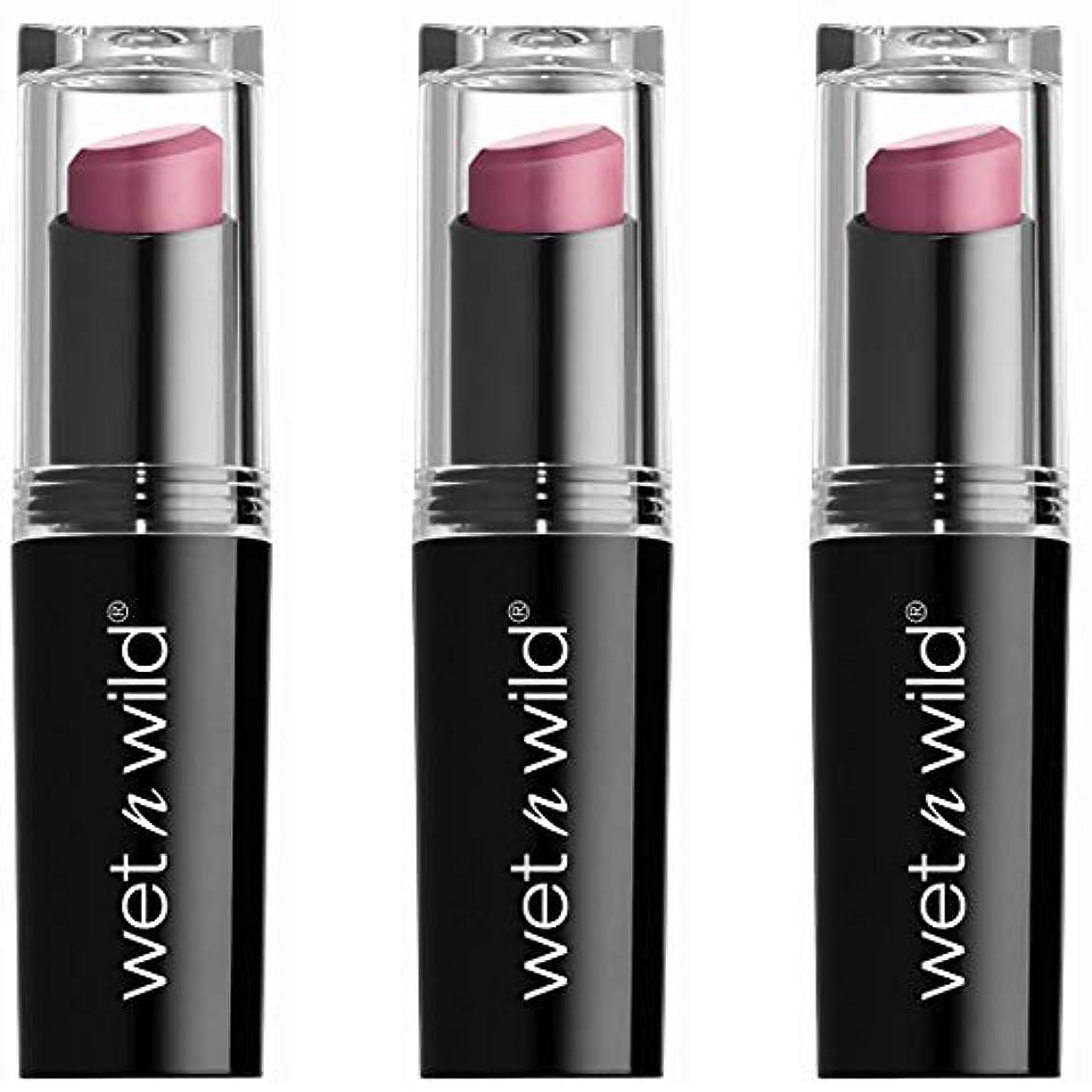 悲惨な求人理容室WET N WILD Mega Last Matte Lip Cover - Smooth Mauves (並行輸入品)