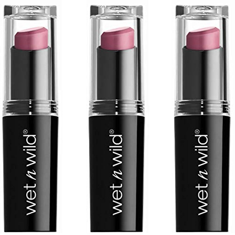国家バンド面積WET N WILD Mega Last Matte Lip Cover - Smooth Mauves (並行輸入品)