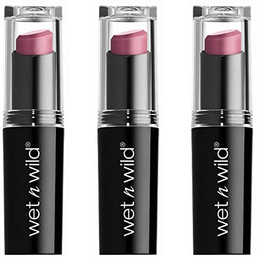 しわ蜜受けるWET N WILD Mega Last Matte Lip Cover - Smooth Mauves (並行輸入品)