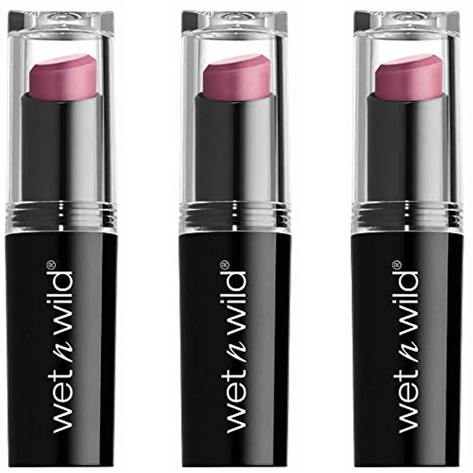 不公平嫌がらせ間隔WET N WILD Mega Last Matte Lip Cover - Smooth Mauves (並行輸入品)
