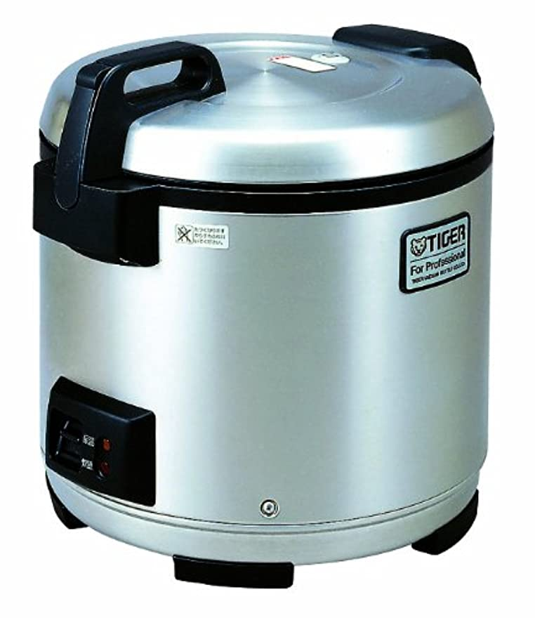 遺跡ピック遺跡Tiger JNO-A36U-XB 20-Cup (Uncooked) Commercial Rice Cooker and Warmer, Stainless Steel Black by Tiger Corporation