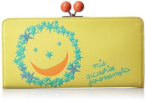 [ホコモモラ] 長財布 「アルシエロ」ガマ口型長財布 5380803 52 イエロー