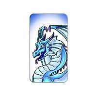 Dragon Happy Blue - Cute Fantasy Lapel Hat Pin Tie Tack