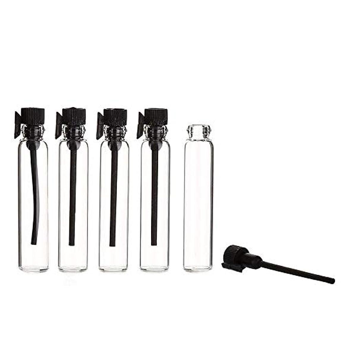敵対的放棄する適応的YouPei® 2ml ミニサンプルかわいいガラス旅行オイル香水瓶ドロップスプレー空のサンプルボトルエッセンシャルオイル-50個