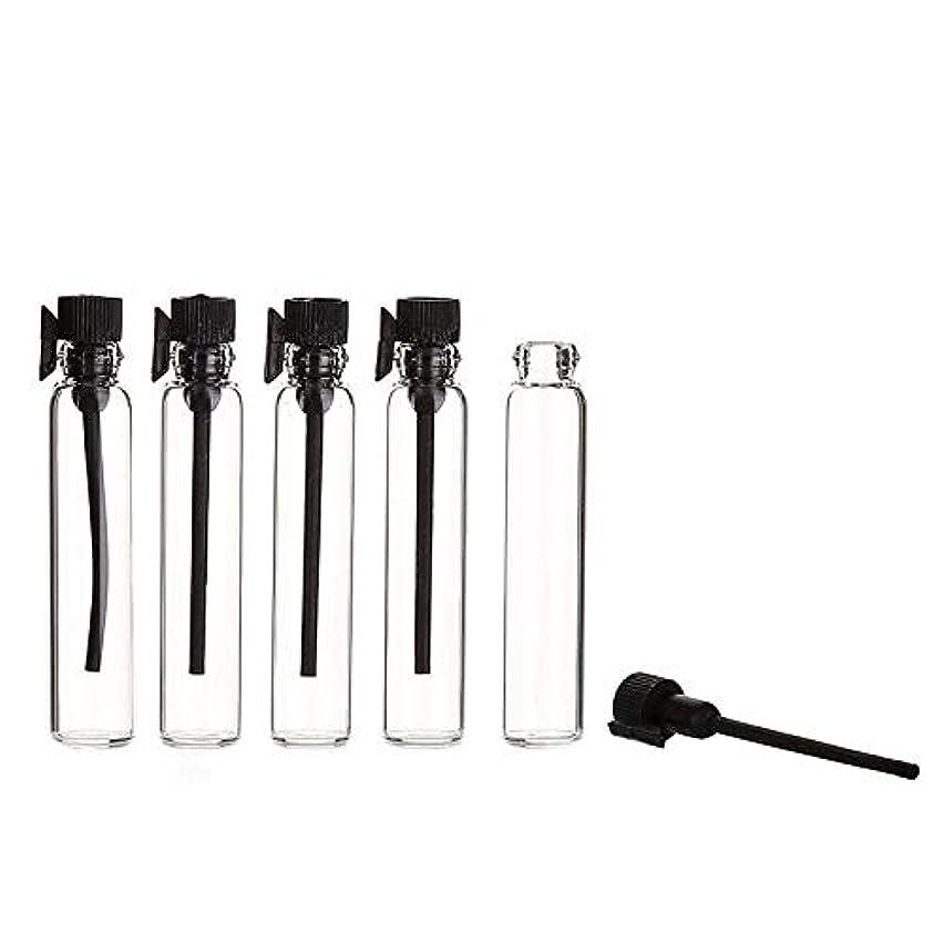 民兵ペイントボットYouPei® 2ml ミニサンプルかわいいガラス旅行オイル香水瓶ドロップスプレー空のサンプルボトルエッセンシャルオイル-50個