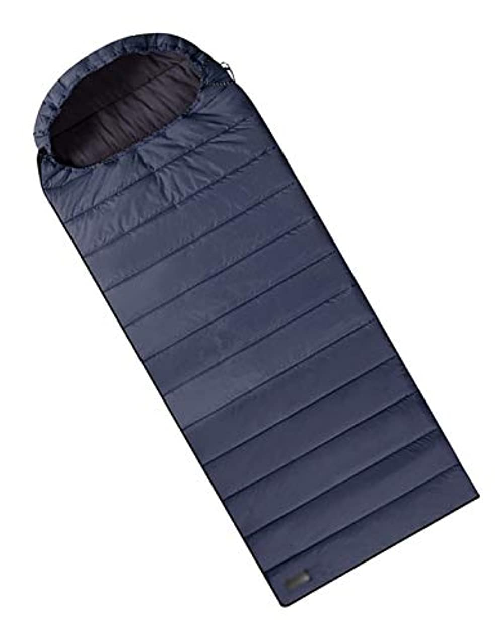 プーノラリーベルモントスリル寝袋、屋外ポータブル大人封筒寝袋、四季のハイキング、暖かい、防汚、防水性と耐久性のある寝袋 (Color : Blue-1.8kg)