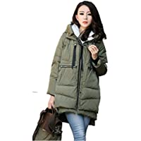 Winter Thickened Long Down Jackets Women Warm Plus Size Coat Maxi Outerwear