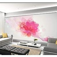 Ljjlm カスタム3D壁画シンプルなファンタジーの花のリビングルームのソファーテレビの寝室の背景の壁紙-160X120CM