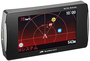 ユピテル スーパーキャット高感度GPSアンテナ搭載一体型リモコン付レーダー探知機 SCX-R326