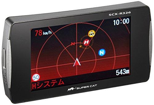 ユピテル レーダー探知機 スーパーキャット高感度GPSアンテ...