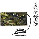 Reptile Tank Heating Pad - USB Reptile Under Tank Heat Mat Waterproof Terrarium Heater Reptile Heated Pad for Lizard, Gecko,