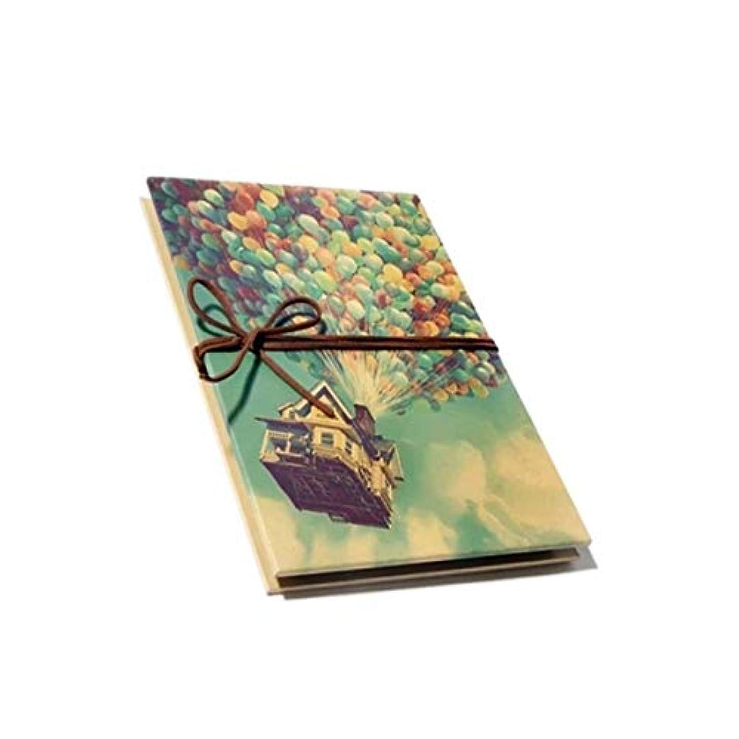 差別パイプ薬剤師HAYQ フォトアルバム、創造的なテーマの手作りの伝統的なフォトアルバム、アコーディオンのテーマペーストはギフトとして使用できます(100枚の写真を収容できます) (Color : Green)