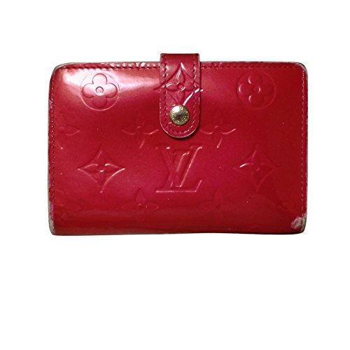 [ルイヴィトン] LOUIS VUITTON 財布 ルイヴィトン ヴェルニ ローズポップ がま口 二つ折り サイフ ウォレット レディース ブランド M93651 [中古]